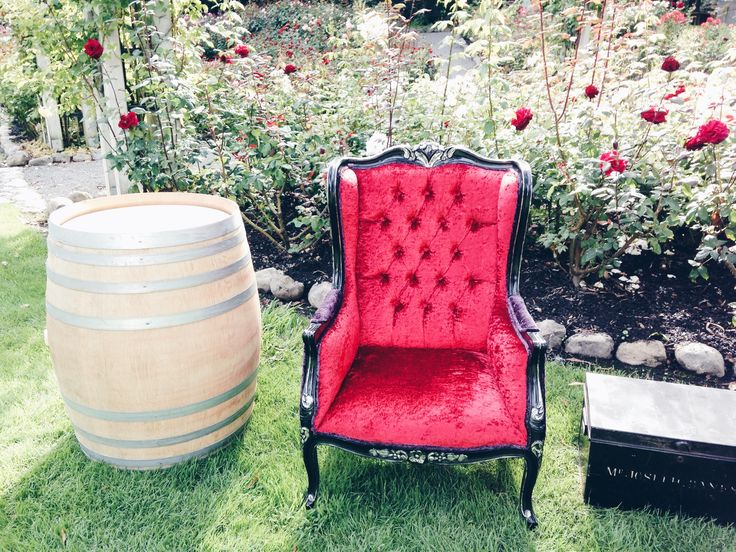 Style up your event with our baroque velvet chair from our wine country range. Visit our website for more information