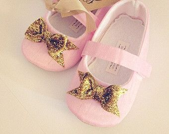 446 best pink gold images on pinterest pink and gold items similar to baby girl shoes toddler girl shoes soft soled shoes wedding shoes flower girl shoes summer shoes hot pink orange girl shoes madeline on mightylinksfo
