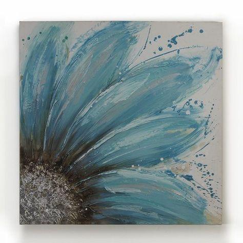 Malen Blaue Blume