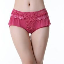 2014 Sexy Lace Rose Design Elegant Fancy Flirtitude Panties Best Seller follow this link http://shopingayo.space