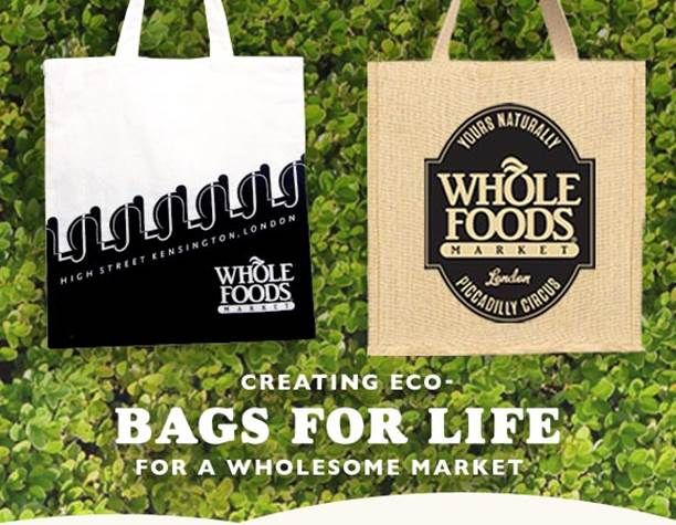 Some Recent Bags We Made For Whole Foods Uk Cotton Bag Pouch Jute