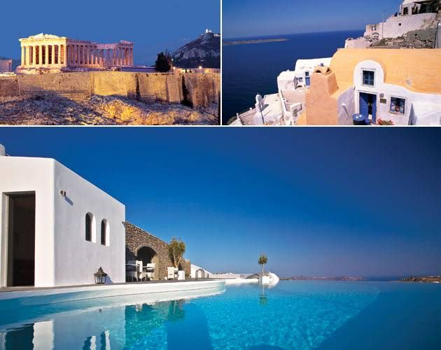 Travel Experts' Honeymoon Itineraries: Greece : Brides