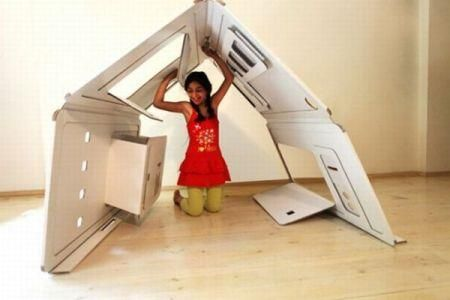 Ένα παιδικό δωμάτιο που χωράει παντού!