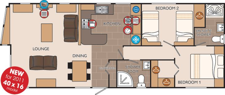 16x40 Cabin Floor Plans Picsant Homes Pinterest X