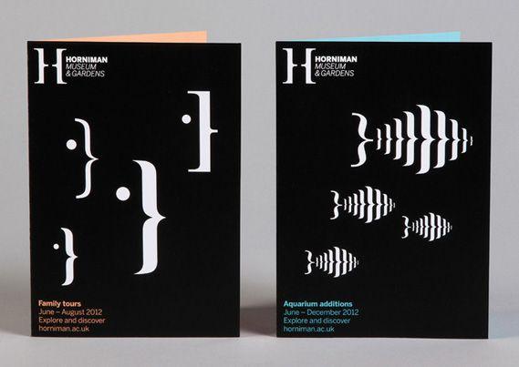 bracketed book cover illustrations for new Horniman Museum branding