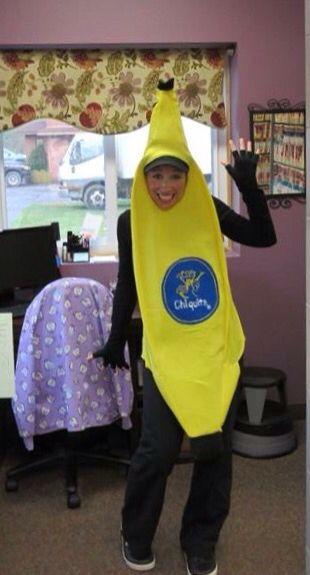Chiquita banana costume diy