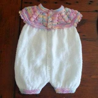 Top Down All-in-One Romper Suit