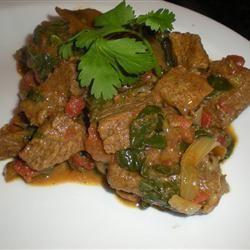 Spinach Beef Curry @ allrecipes.com.au