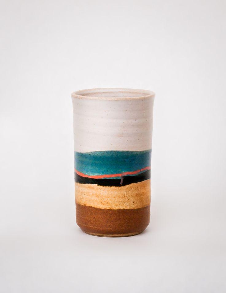 Blue Eagle Ceramic Tumbler 8 oz - Pistils Nursery