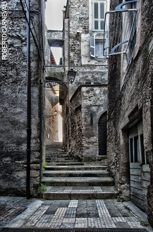 ~Street from Anagni | © Roberto Carnevali, Anagni, province of Frosinone , Lazio region, Italy~