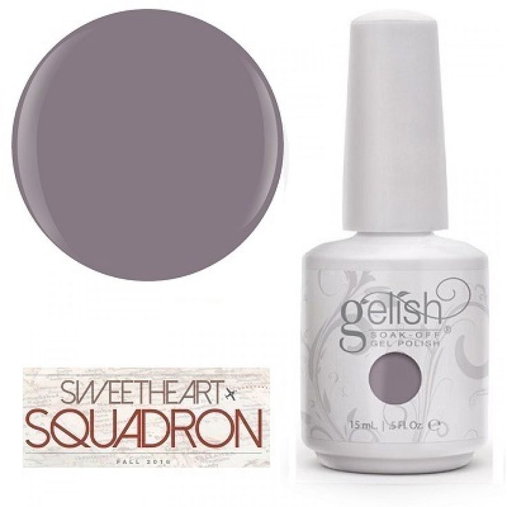 GELISH Rule The Runway - Slate Gray Crème UV/LED gelinis nagų lakas 15ml…