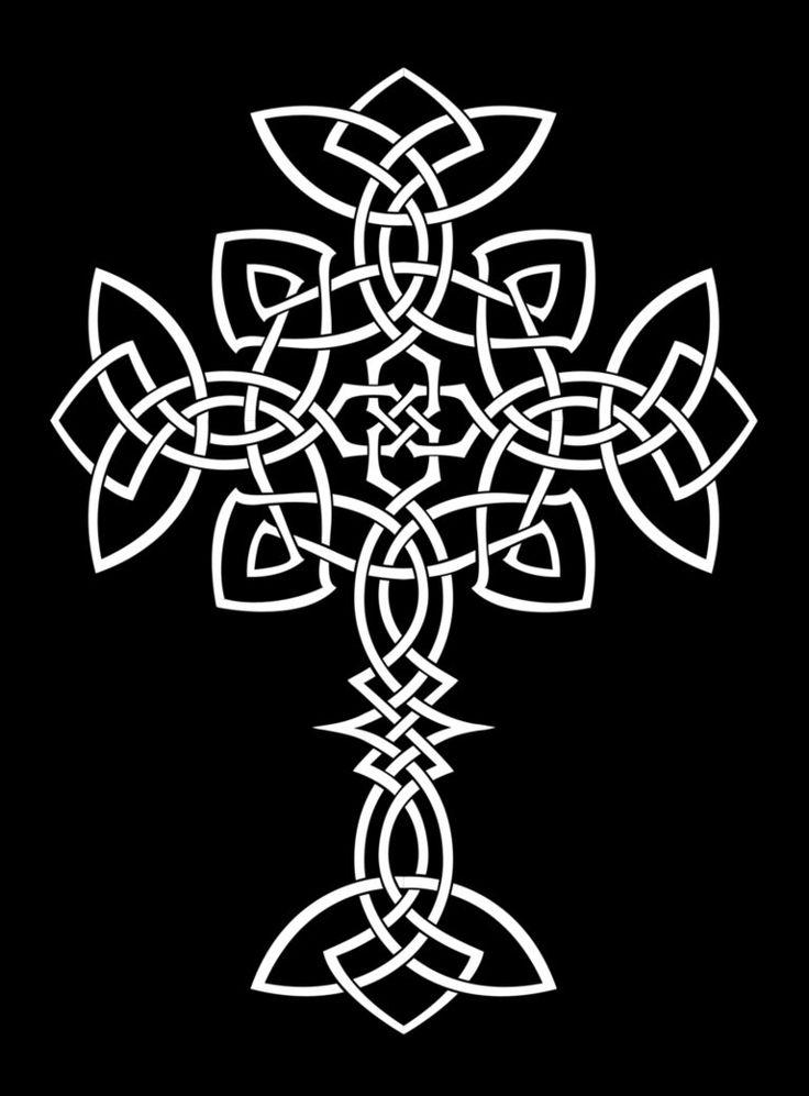 knotty cross by lunar alienism on deviantart celtic