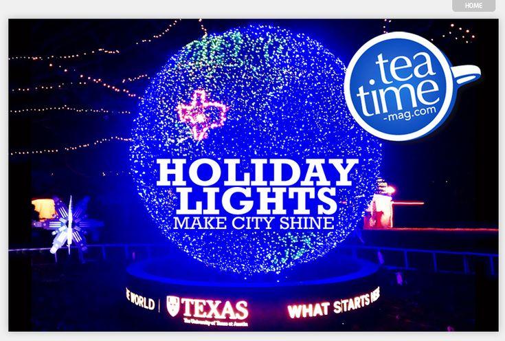 #anglais Christmas in Austin, Texas