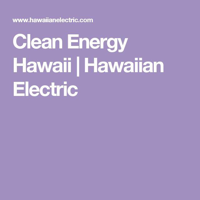 Clean Energy Hawaii | Hawaiian Electric