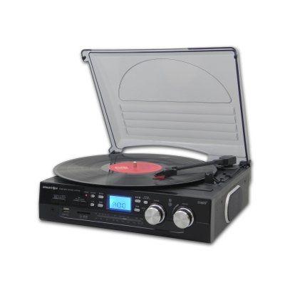 Brigmton BTC-403 Tocadiscos Digital-Grabación USB