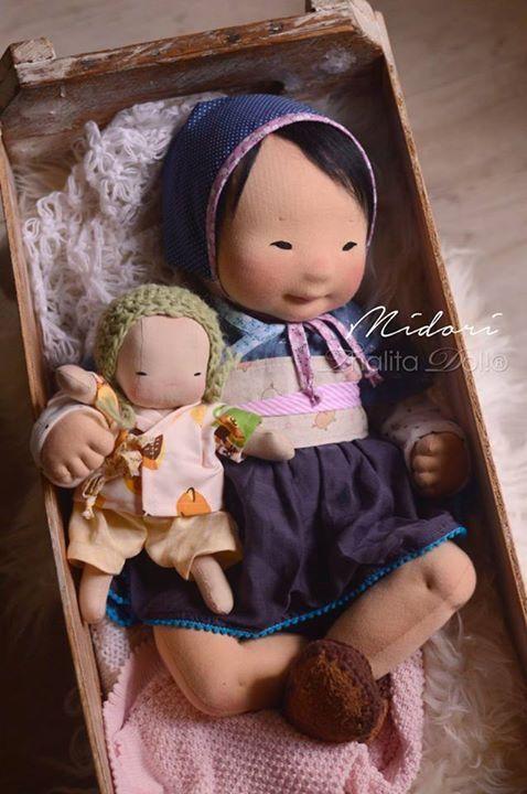Waldorf doll Asian                                                                                                                                                                                 More