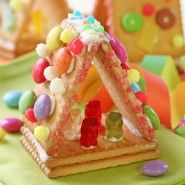 snoephuisje maken van kaakjes - candy house of cookies (Nederlandse tutorial)