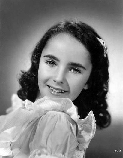 vintage everyday: Pictures of Elizabeth Taylor when she was young
