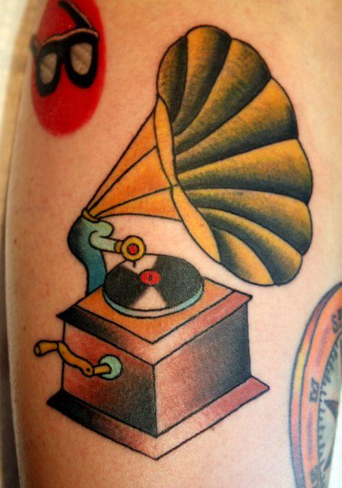 Google Tattoo: Phonograph Tattoo Tumblr - Google Search
