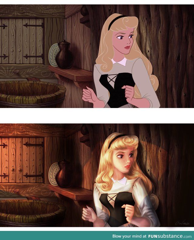Disney paintover