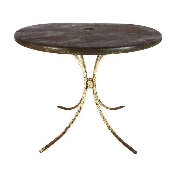 Mid-Century Metal Picnic Table - $675 Est. Retail - $275 on Chairish.com