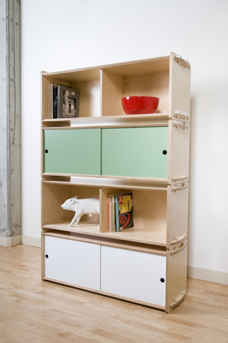 Modular storage furniture systems - Find This Pin And More On Plywood Furniture Key Modular Storage System
