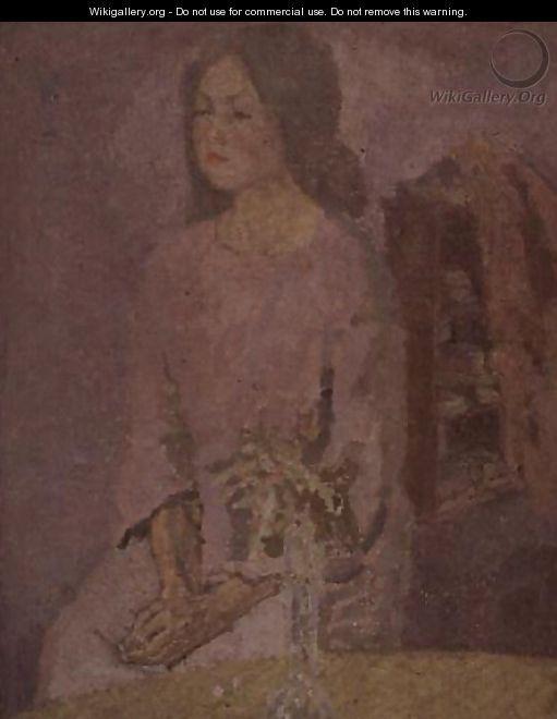 Girl in Rose, Gwen John