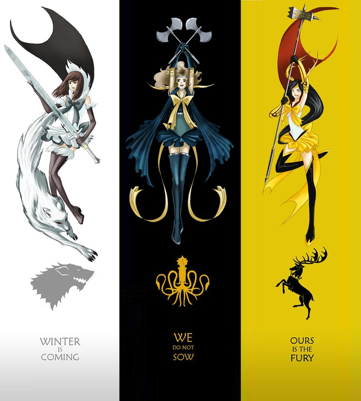 Sailor Scouts of Ice and Fire, my day is made