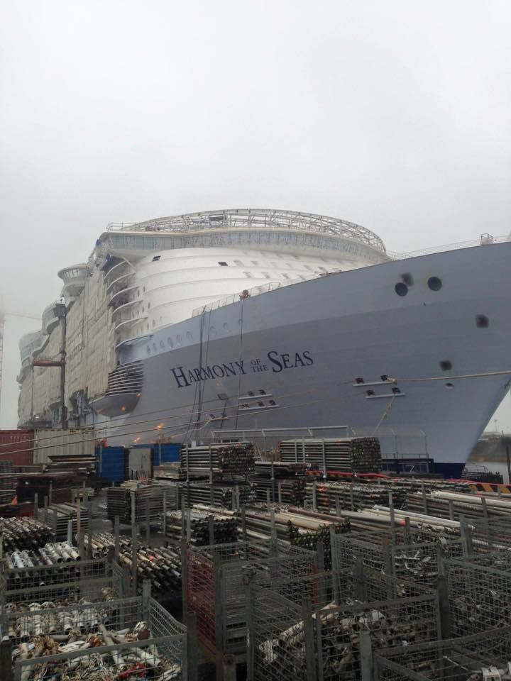 November 6 2015 - Royal Caribbean International's Harmony of the Seas.