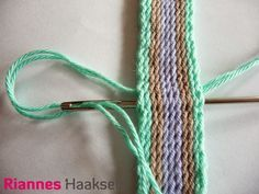 RiannesHaaksels: Ply split braiding #2