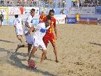 LND - Dipartimento Beach Soccer - EURO BEACH SOCCER LEAGUE: L'ITALIA PARTE BENE, 4-2 ALLA ROMANIA