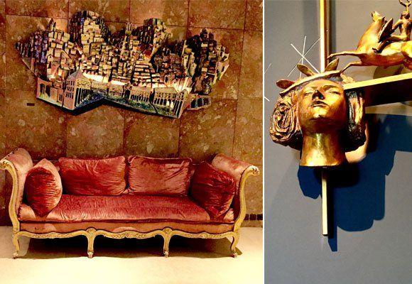Detalles en la decoración, hotel Ritz de Lisboa