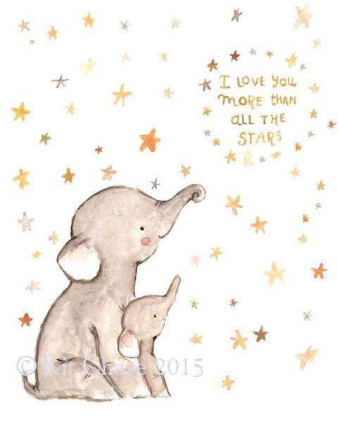 i love you -- elephant