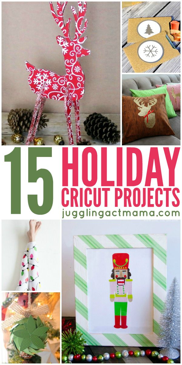 15 Holiday Cricut Projects