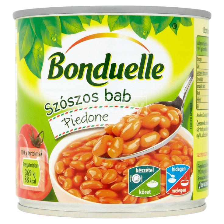 Bonduelle Piedone fehérbab konzerv 430 g paradicsom mártásban