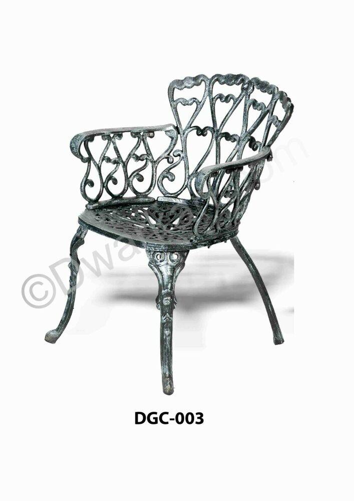 Cast Iron Chair For Garden Indoor
