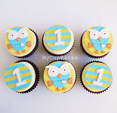 MyCupKates - Cakes, Cupcakes  Cookies: Giggle and Hoot Party Desserts