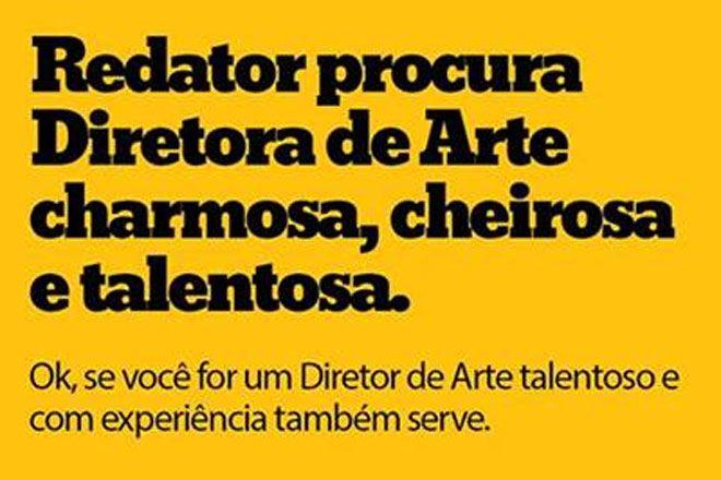 Ofertas de emprego na publicidade sao criativas demais? Veja essa, nem sempre dá certo http://www.bluebus.com.br/ofertas-de-emprego-na-publ-sao-criativas-demais-veja-essa-nem-sempre-da-certo/
