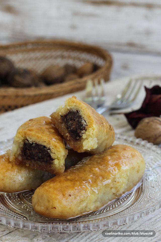 Hurmašice punjene čokoladom i orasima — Coolinarika