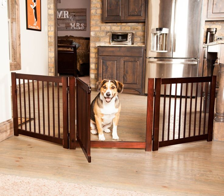 "360˚ DESIGNER DOG GATE WITH DOOR 24"" – Free shipping and tax included on all designer dog gates. Add style to your home with our luxury pet gates.  Perfect for puppies too! Our indoor and outdoor dog gates will be a great addition to your home.  #dog #doggate #talldoggate #petgate #puppygate #designerpetfurniture"