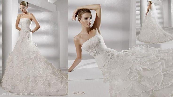 Испанское свадебное платье pronovias в рязани