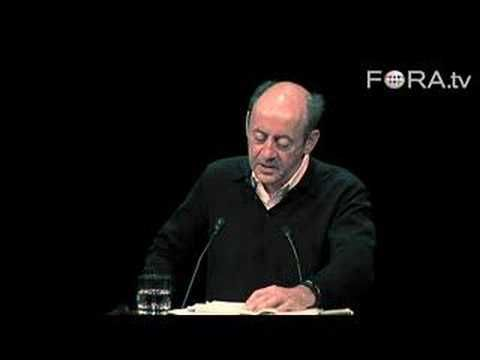 """Complete video at: http://fora.tv/2008/04/07/A_Selection_of_Poems_by_Billy_Collins Former U.S. Poet Laureate Billy Collins reads his poem, """"The Lanyard."""" ---..."""