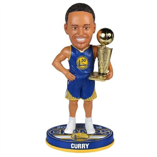 Golden State Warriors Steph Curry #30 2015 NBA Champions Bobble Head