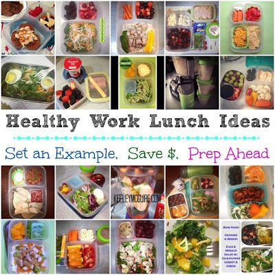 This is good inspiration for prepping lunches ahead of time. These examples are gluten, nut, and dairy free so make sure to tailor these to meet your individual needs.