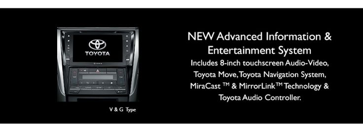 Toyota All New Camry type V -  Entertainment center - The Future Sedan - Auto2000