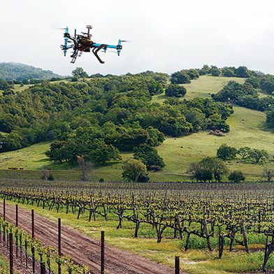 Agricultural Drones |   Relatively cheap drones with advanced sensors and imaging capabilities are giving farmers new ways to increase yields and reduce crop damage.