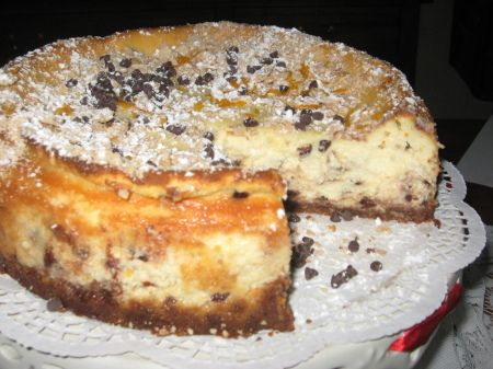 Nancy's Famous Cannoli Cream Cheesecake Recipe | Just A Pinch Recipes
