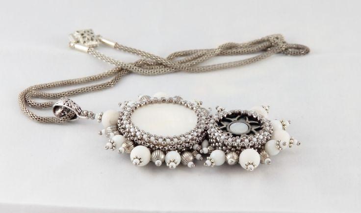 Nitecznik necklace beading  nitecznik.blogspot.com