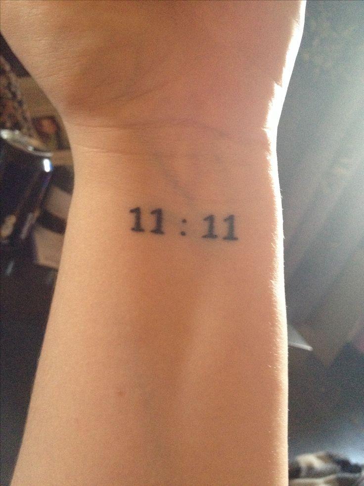 #eleveneleven #11:11 #tattoo for our 25th anniversary  11/11/89