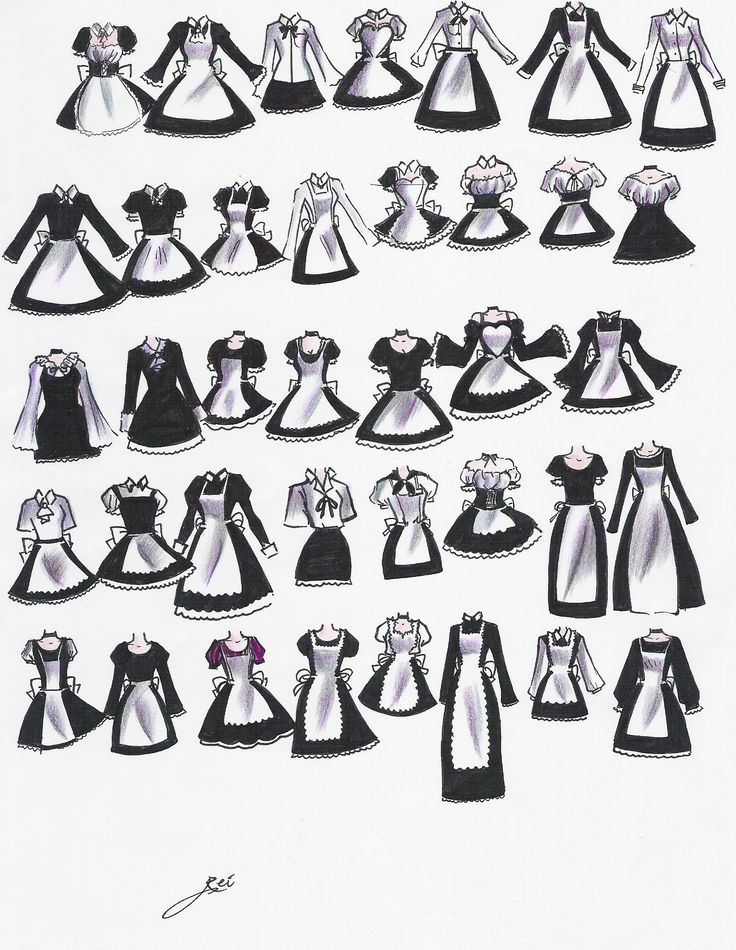 Maid-wear? by NeonGenesisEVARei.deviantart.com on @deviantART